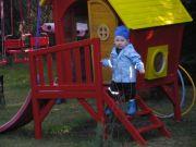 Unser Hexenhaus im Spielgarten