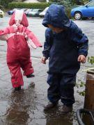 Spielspass bei Regenwetter